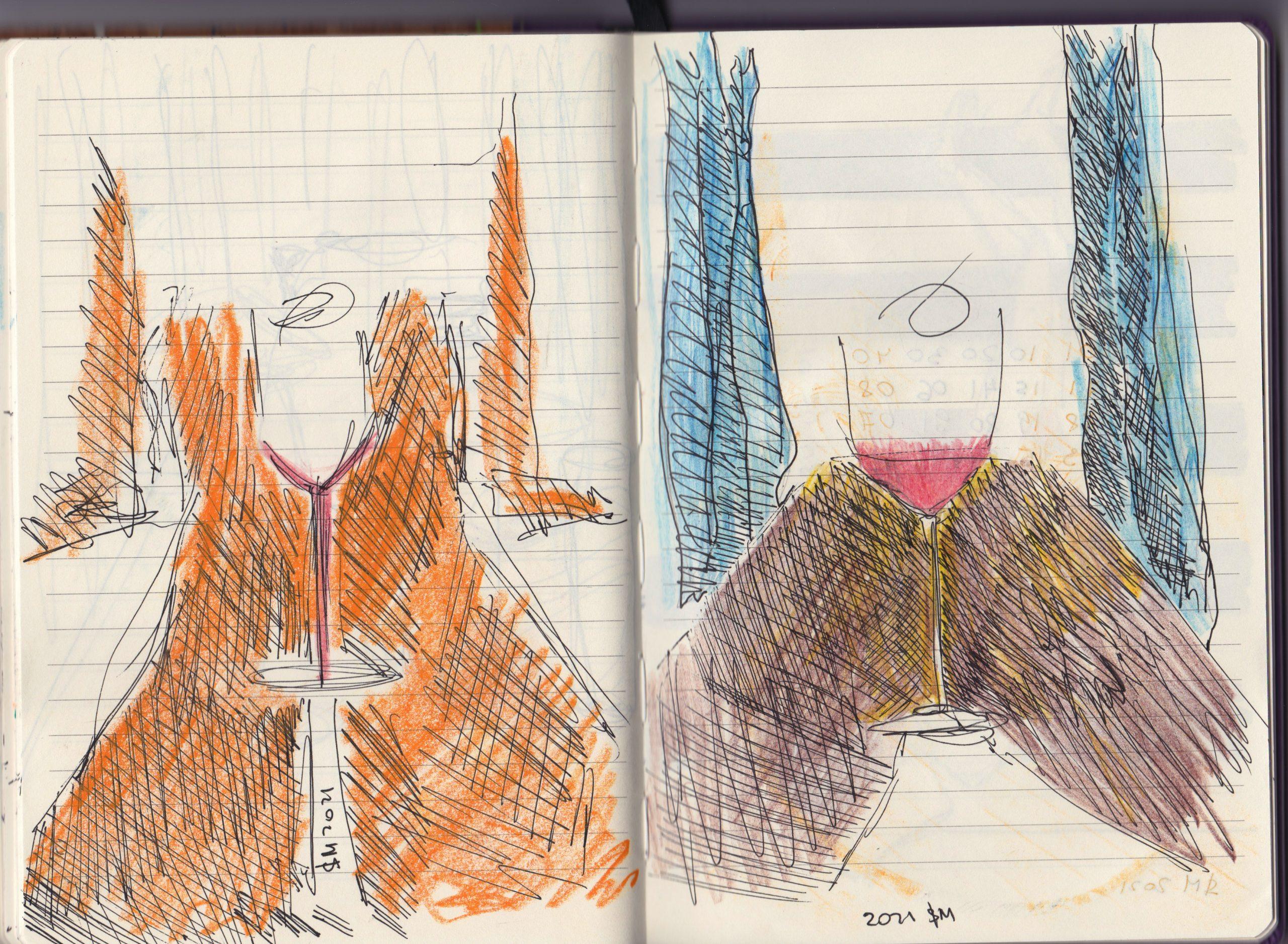Art journal | Sketches  | 10 way to Improve your sketchbook