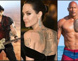 Guess the Celebrity from their Tattoos