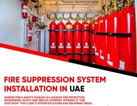 Fire Suppression System Installation In UAE