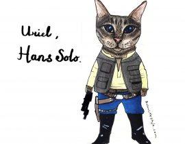 Uriel as Hans Solo