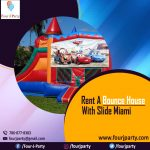 Rent a Bounce House With Slide Miami