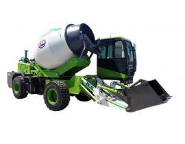 Junhua self loading concrete mixer