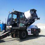 good concrete self loading concrete mixer