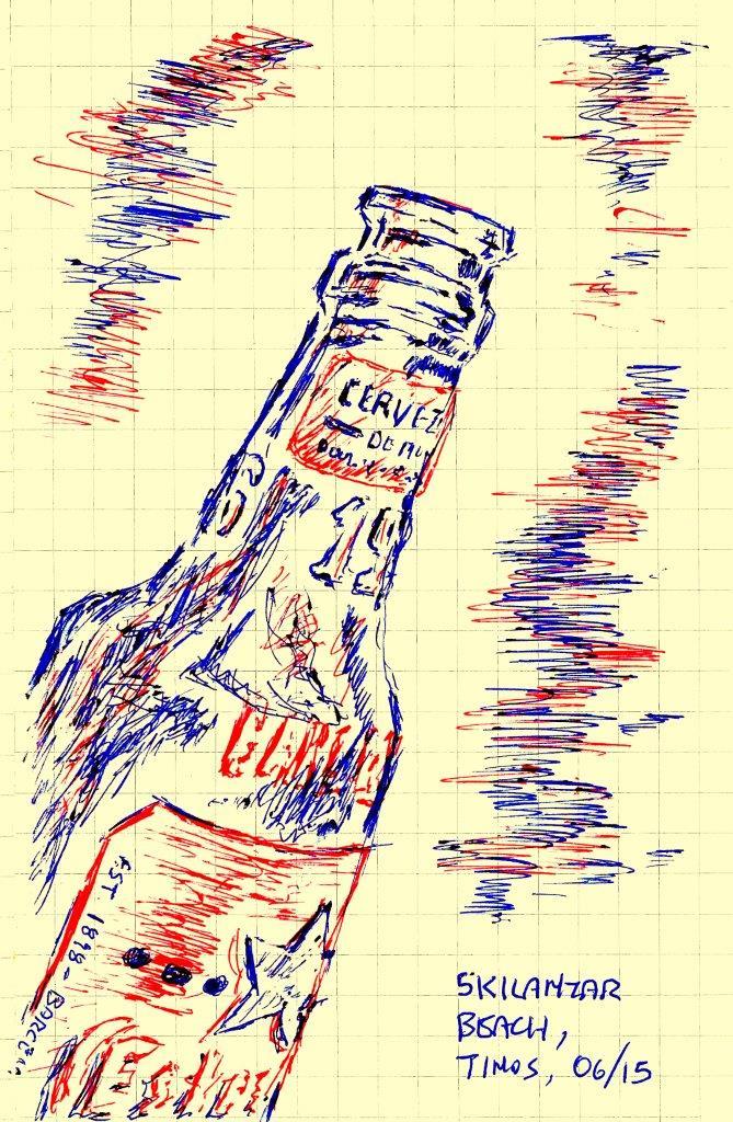 bottle-less message
