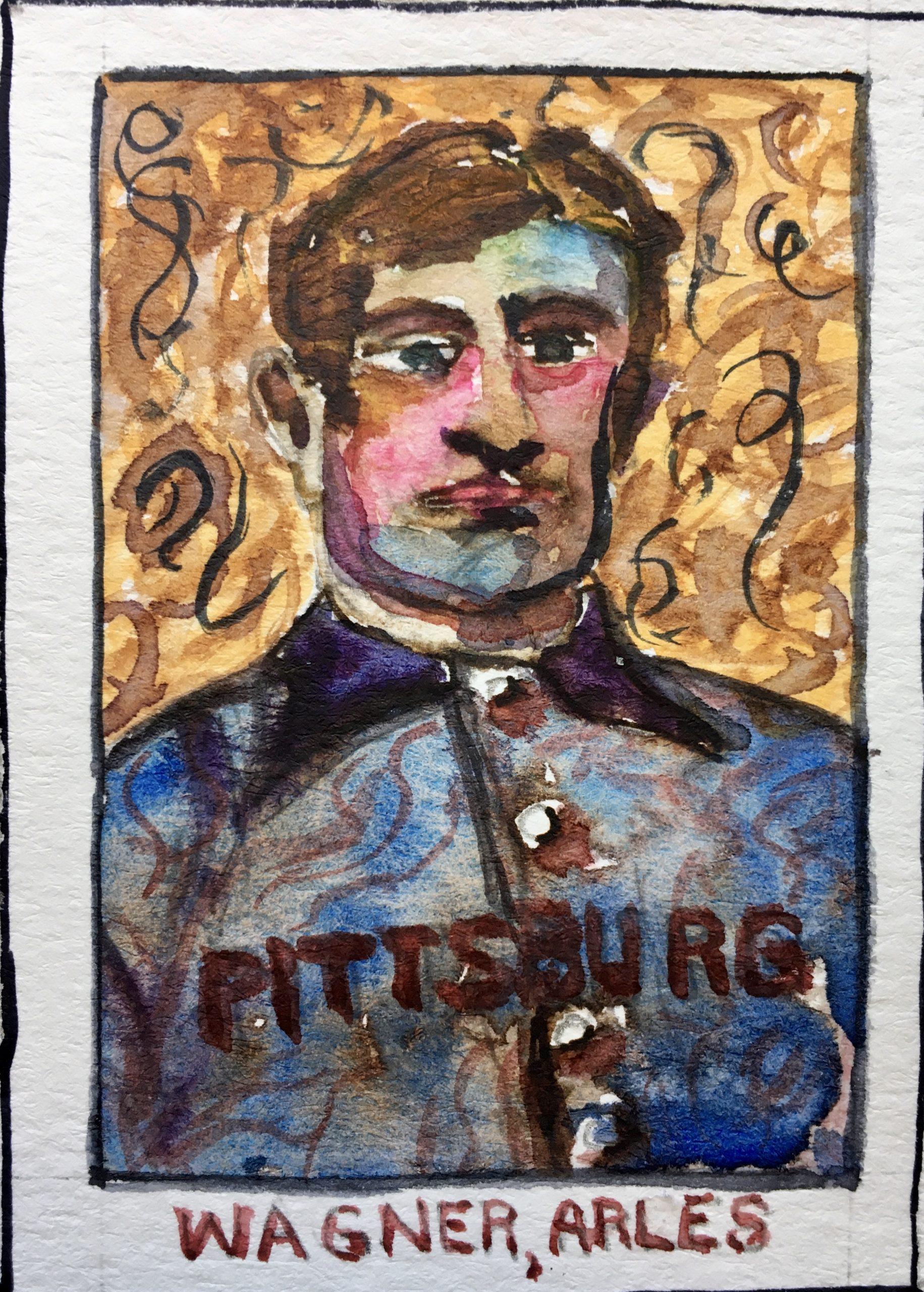 Van Gogh walks into a ballgame