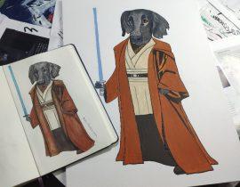 Apollo as Obi wan Kenobi