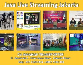 Jasa Live Streaming Jakarta – Paket Video Live Streaming Murah Jakarta