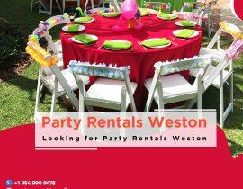 Party Rentals Weston