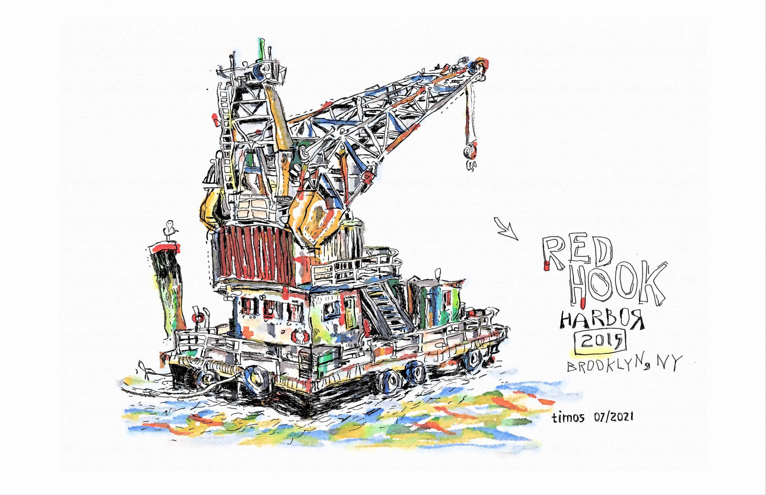 Red Hook harbor | 07.26.2021