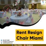 Rent Resign Chair Miami