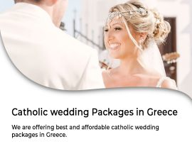 Catholic Wedding Packages in Greece