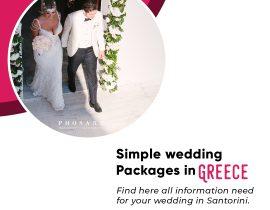 Simple Wedding Packages in Greece