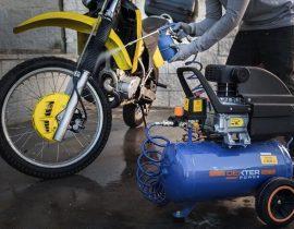 Compresor para Motocicleta