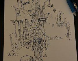 Chinatown, NYC – draft study