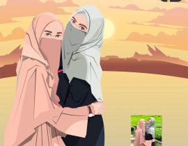Vector Hijab