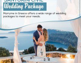 Santorini Civil Wedding Packages
