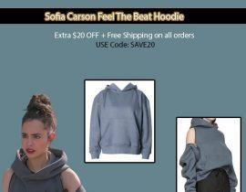 Sofia Carson Feel The Beat Hoodie