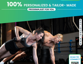 100% Personalized & Tailor – Made Program Just for you!